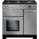 FALCON › FALCON - KCH 90 DFSSC EU - Kitchener 90 Gaz Inox / Chrome