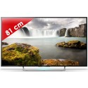 SONY › SONY - KDL32W705CBAEP - Edge LED - 32 pouces (82 cm) - HD TV 1080p (Full HD) - 200 Hz - Smart TV - Wi-Fi intégré