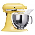 KITCHENAID › KitchenAid - Robot sur socle Artisan Jaune Pastel 4.8L (5KSM150PSEMY)