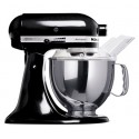 KITCHENAID › KitchenAid - Robot sur socle Artisan Noir Onyx 4.8L (5KSM150PSEOB)