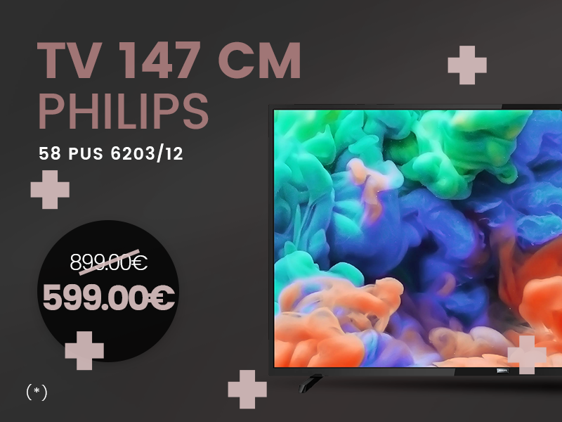 BLACK FRIDAY - TV PHILIPS