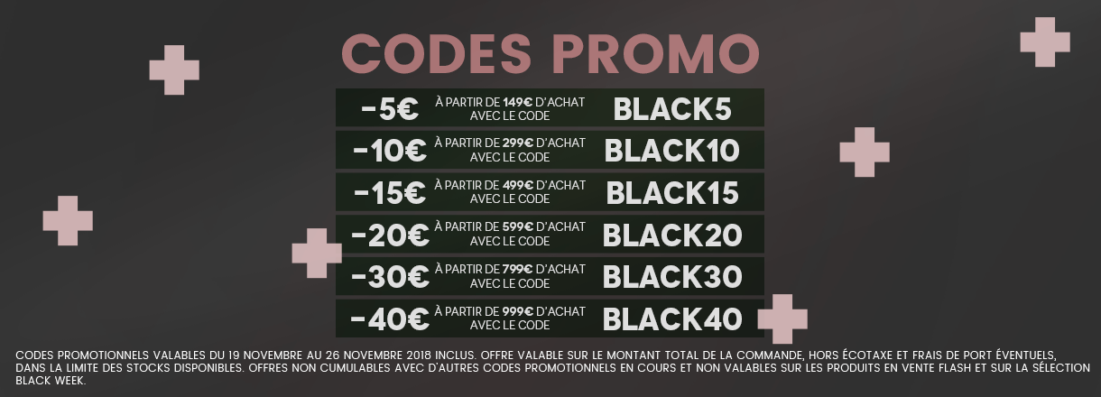 Encore plus de remises : codes promo