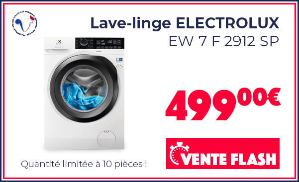 FRENCH DAYS Lave-linge ELECTROLUX