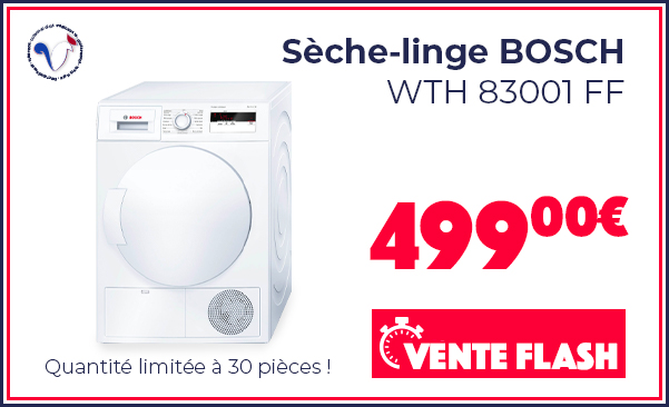 FRENCH DAYS Seche-linge BOSCH