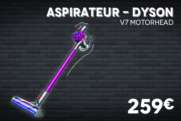 Aspirateur V7 Motorhead DYSON - Black Week Black Friday 2020 Villatech