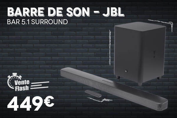 Barre de son JBL - Black Week Black Friday 2020 Villatech