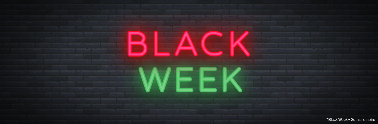 Black Week - Black Friday 2020 Villatech