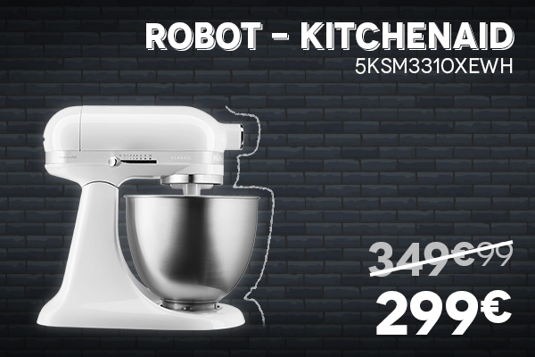 Robot KITCHEN AID - Black Week Black Friday 2020 Villatech