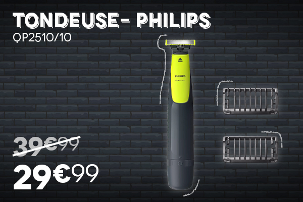Tondeuse PHILIPS - Black Week Black Friday 2020 Villatech