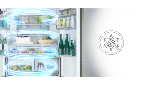 no frost refrigerateur americain haier
